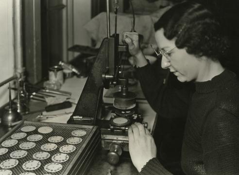 Lewis Hine, Hamilton Watches, Lancaster, Pennsylvania, 1936-37