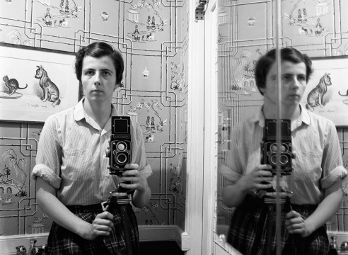 Vivian Maier, Self-Portrait, 1955, Howard Greenberg Gallery, 2019