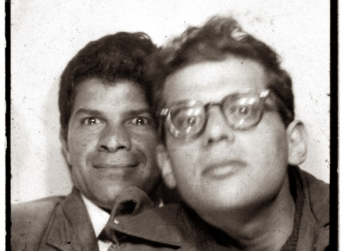 Allen Ginsberg: Vintage Photo Booth Strips