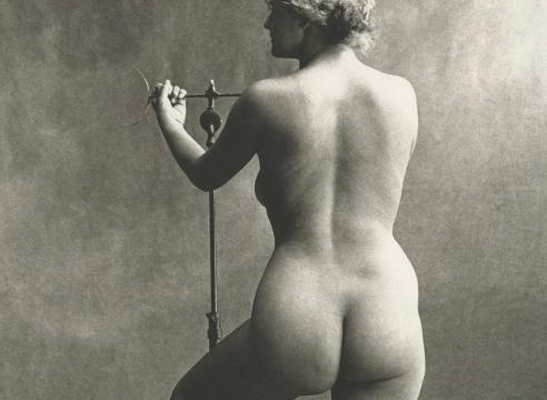 Irving Penn, Sculptor's Model, Paris, 1950, Howard Greenberg Gallery, 2019