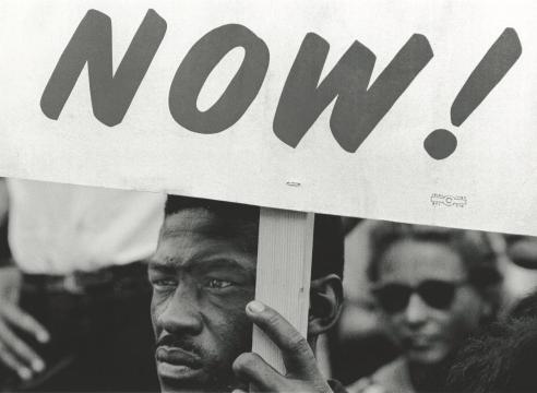 ADELMAN, Bob Demonstrator during the March on Washington, DC, 1963