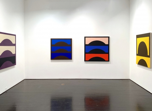 Shaping Color: Recent Paintings by Jason Stewart