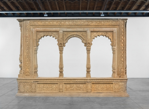 """""""A Mughal Style Pleasure Pavilion From A Hindu Palace or Garden Resort,"""" by George Michell"""