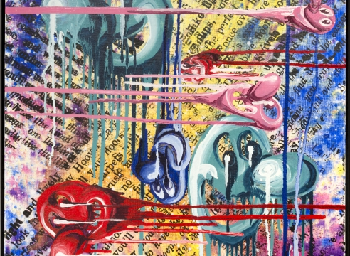 Kenny Scharf: Inner and Outer Space
