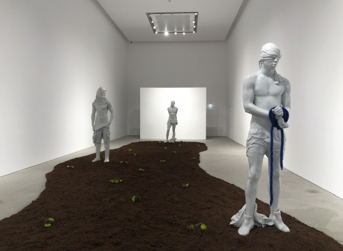 Reza Aramesh: Site of The Fall - Study of The Renaissance Garden
