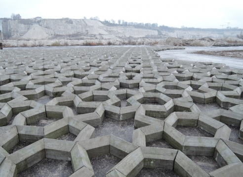Mike Nelson | Imperfect Geometry for a Concrete Quarry