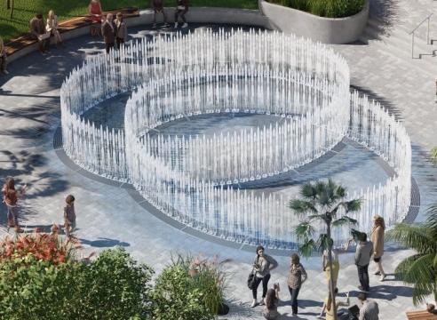 Jeppe Hein | Water Pavilion West Palm