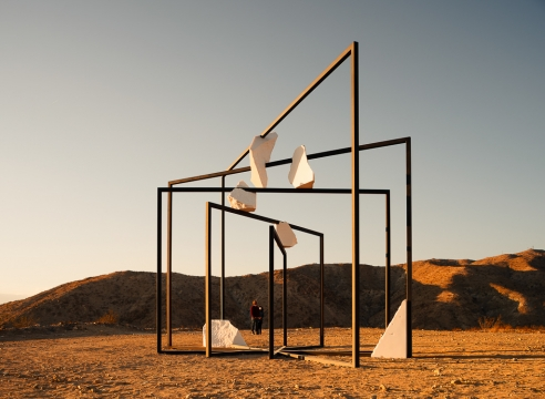 Alicja Kwade   Desert X