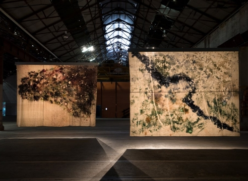 Sam Falls | SUPERPOSITION: Equilibrium & Engagement | 21st Biennale of Sydney