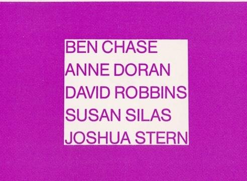 Ben Chase, Anne Doran, David Robbins, Susan Silas, Joshua Stern