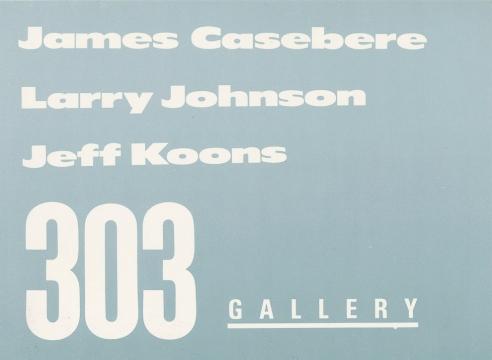 James Casebere, Larry Johnson, Jeff Koons
