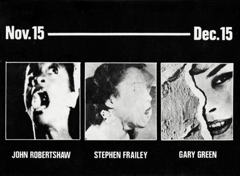 John Robertshaw, Stephen Frailey, Gary Green