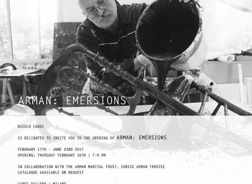 ARMAN: EMERSIONS