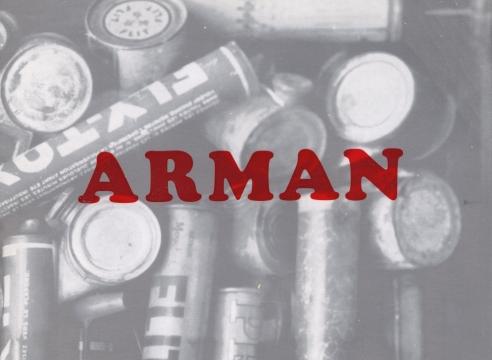 Arman: oeuvres de 1960 à 1965