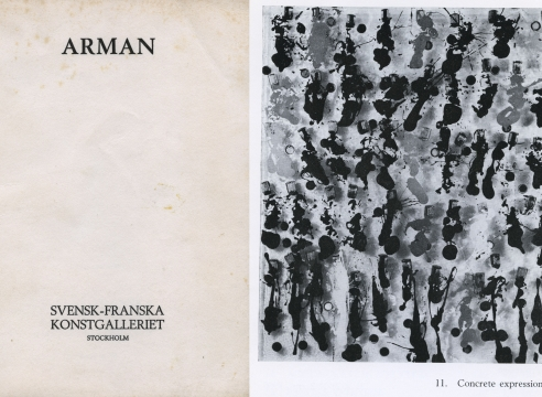 Arman: verk fran 1964-1969