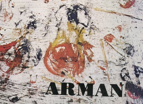 Arman: Lyrical Surfaces
