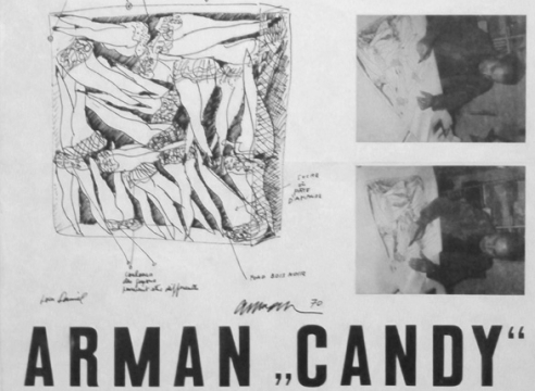 Daniel Spoerri presents: Arman 'Candy'