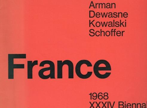 France: Arman, Dewasne, Kowalski, Schoffer