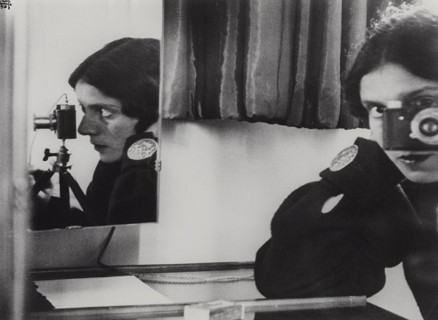 Ilse Bing Self Portrait in Mirrors