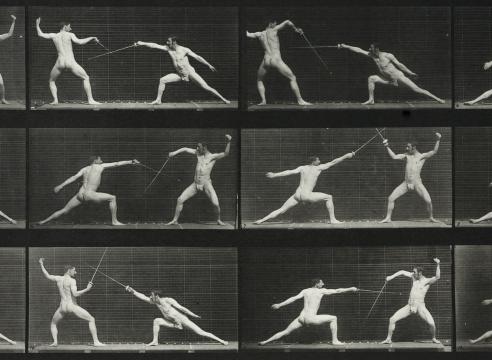 Eadward Muybridge Fencers