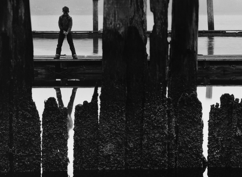 Wynn Bullock Naturally Lynne, Point Lobos, 1956