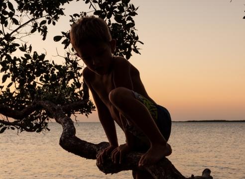 Anastasia Samoylova High Tide, Key West, 2016 Contemplation