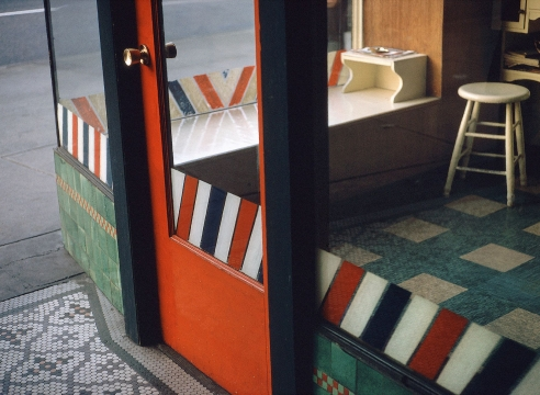 Fred Herzog Empty Barbershop