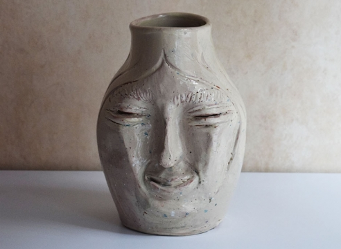 Ceramic Head 2 / Manuel Parra