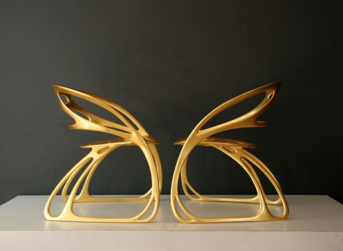 Pair of Butterfly Chairs / Santo & Jean Ya