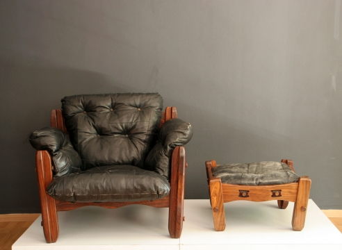 Descanso Lounge Chair and Ottoman / Don Shoemaker