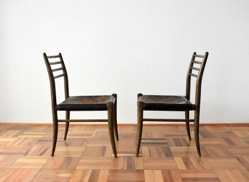 Pair of Chairs / Charles Allen