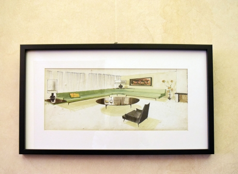 Frank Kyle Studio Interior Design Sketch