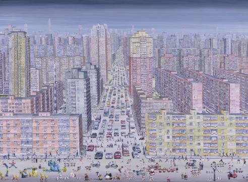 """张弓""""北京-纽约"""""""