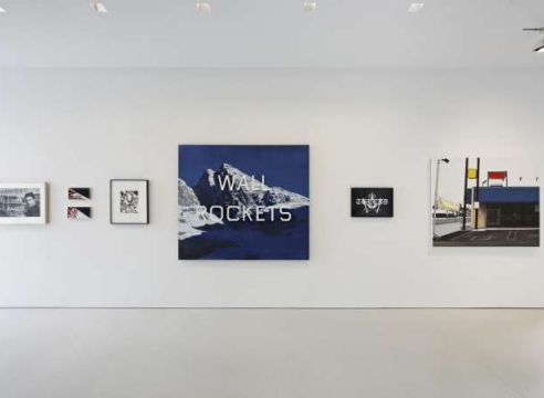 WALL ROCKETS: Contemporary Artists and Ed Ruscha