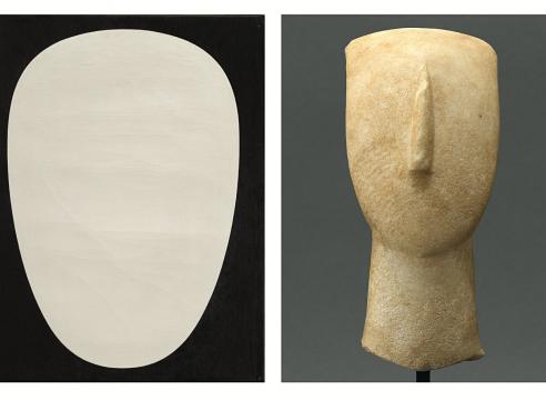 Myron Stout and Cycladic Art