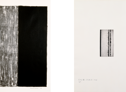 Playing This Litho Instrument: The Prints of Barnett Newman