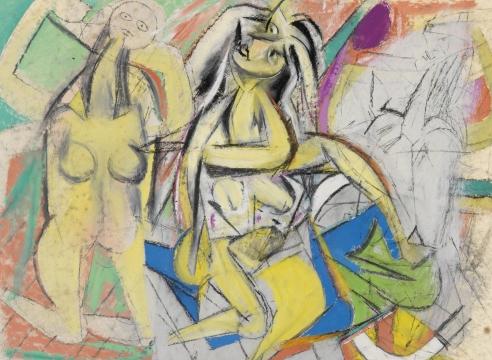 Willem de Kooning: Men and Women, 1938-48