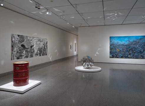 """Rebel, Jester, Mystic, Poet: Contemporary Persians"" (Group Exhibition)"