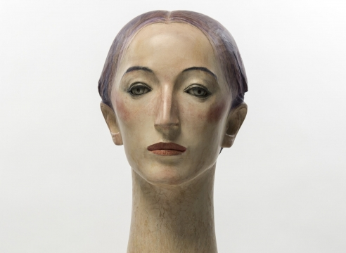 Wooden sculpture by Katsura Funakoshi