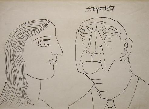 F. N. Souza   Works on Paper