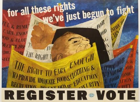 Ben Shahn: Register to Vote