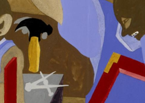 Jacob Lawrence: Builders