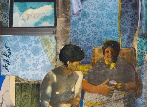 Something Over Something Else: Romare Bearden's Profile Series