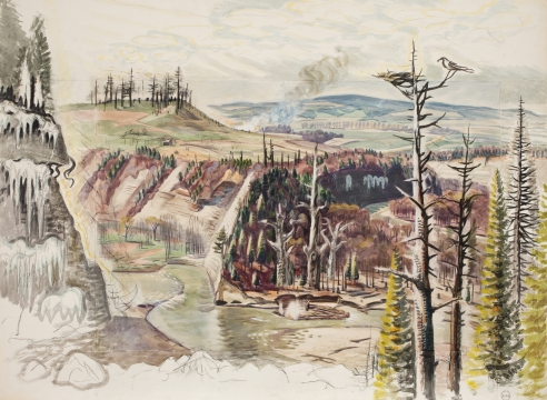Charles Burchfield: Solitude