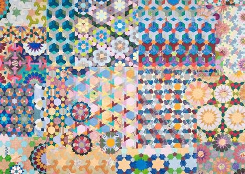 Joyce Kozloff: Maps + Patterns