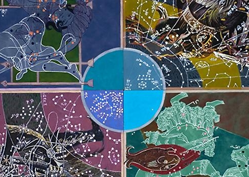 Joyce Kozloff: Navigational Triangles