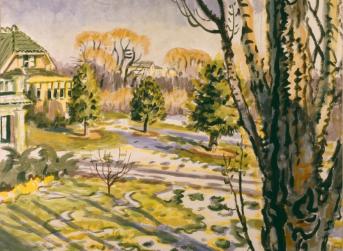 Charles Burchfield: Paintings 1915 - 1964