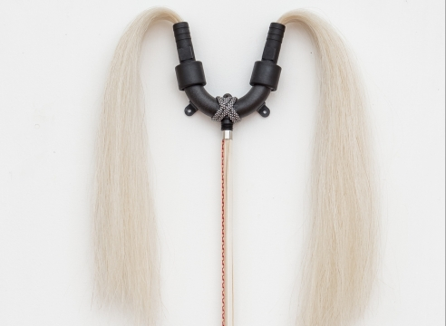 Trish Tillman horsehair sculpture