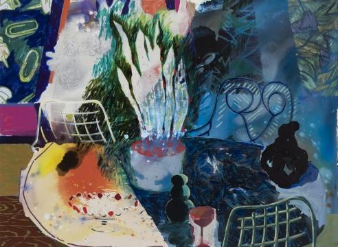 Angelina Gualdoni painting on canvas