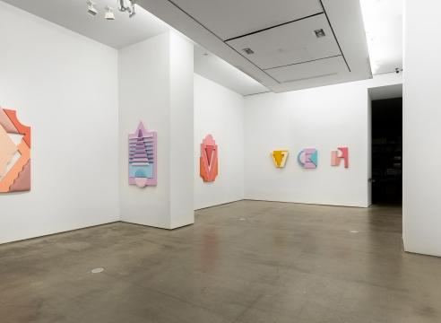 installation of works by Leah Guadagnoli